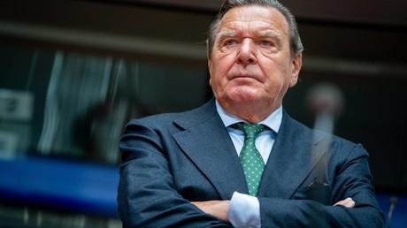 Ehemaliger Bundeskanzler Gerhard Schröder (SPD), (Archivbild)