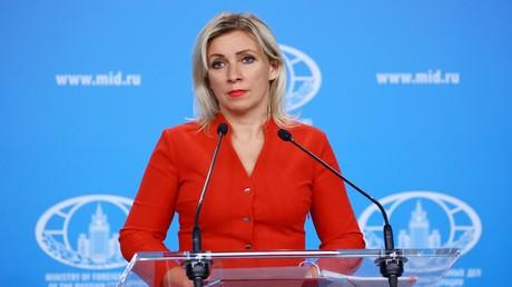 Maria Sacharowa: USA nehmen Wahlen als Vorwand für Sanktionen gegen Russland