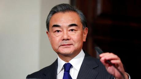 Der chinesische Staatsrat und Außenminister Wang Yi