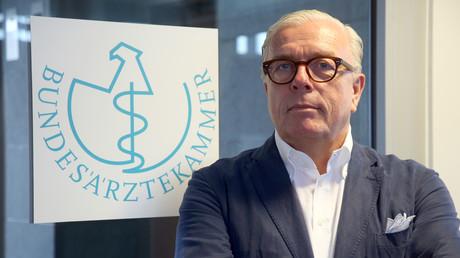 Präsident der Bundesärztekammer Klaus Reinhardt