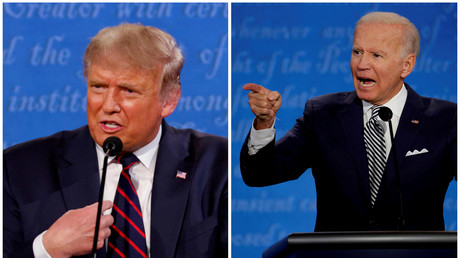 Wollen beide den gleichen Job: Amtsinhaber Donald Trump und Herausforderer Joe Biden
