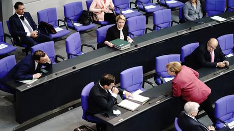Symbolbild: Bundestagsitzung am 30. September 2020