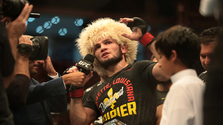 UFC-Superstar Chabib Nurmagomedow verteidigt Titel gegen Justin Gaethje und beendet Karriere (Archivbild)
