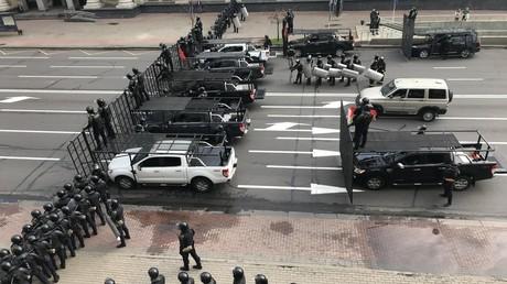 Minsk: Ausschreitungen zwischen Polizei und Demonstranten