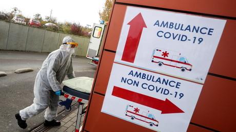 Deutschland nahm am Donnerstag erste Patienten aus überfüllten belgischen Krankenhäusern auf.