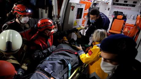Erdbeben im Ägäischen Meer: Zahl der Todesopfer in der Türkei steigt auf 25