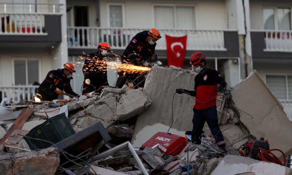 Erdbeben in der Ägäis: Zahl der Toten steigt auf fast 50