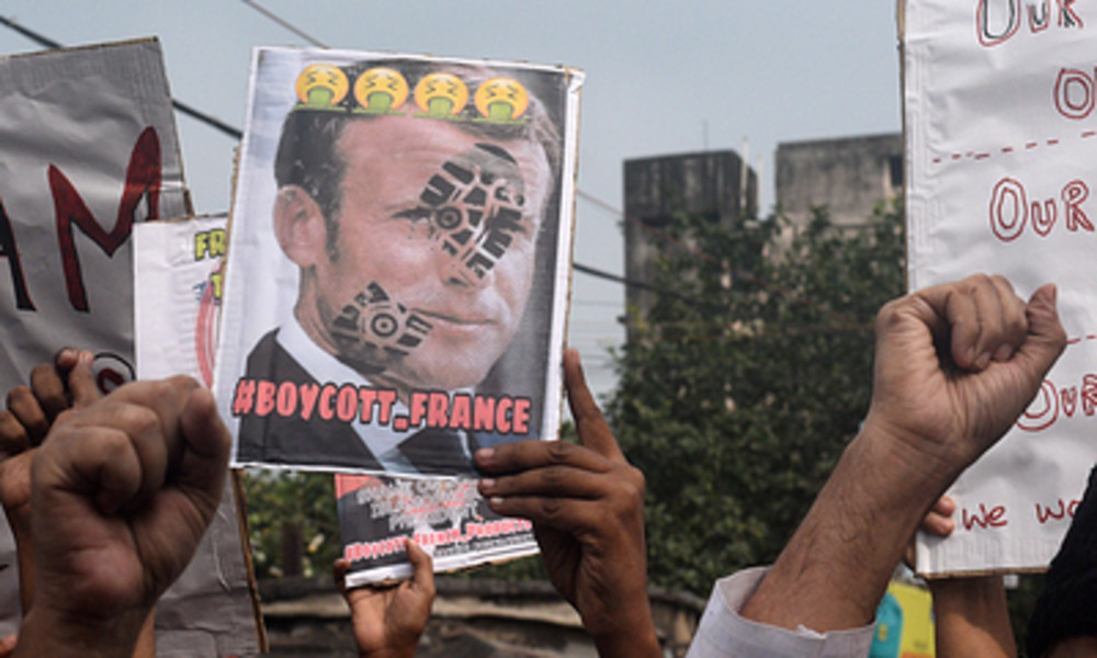 Streit um Mohammed-Karikaturen: Macron zeigt Mitgefühl für Muslime