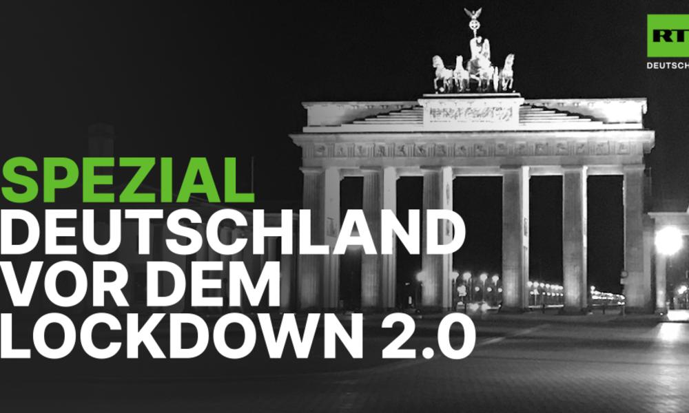 RT Deutsch Spezial: Deutschland vor dem Lockdown 2.0
