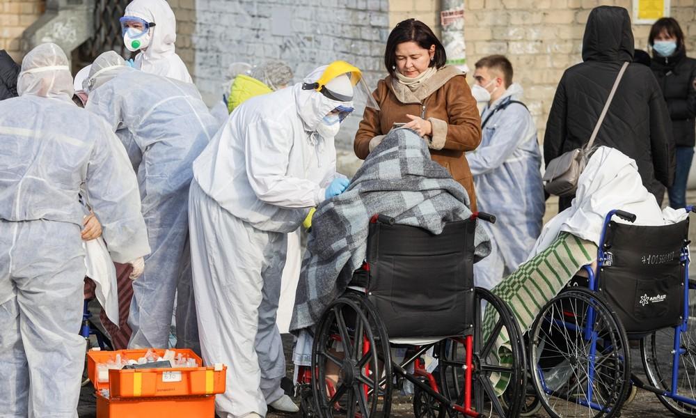 Gewaltige Explosion in russischem Krankenhaus für COVID-19-Patienten