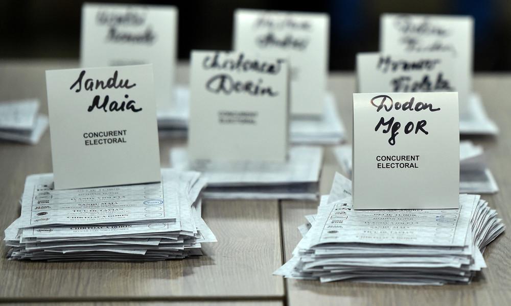 Präsidentenwahl in Moldawien: Prowestliche Kandidatin Sandu vor Amtsinhaber Dodon