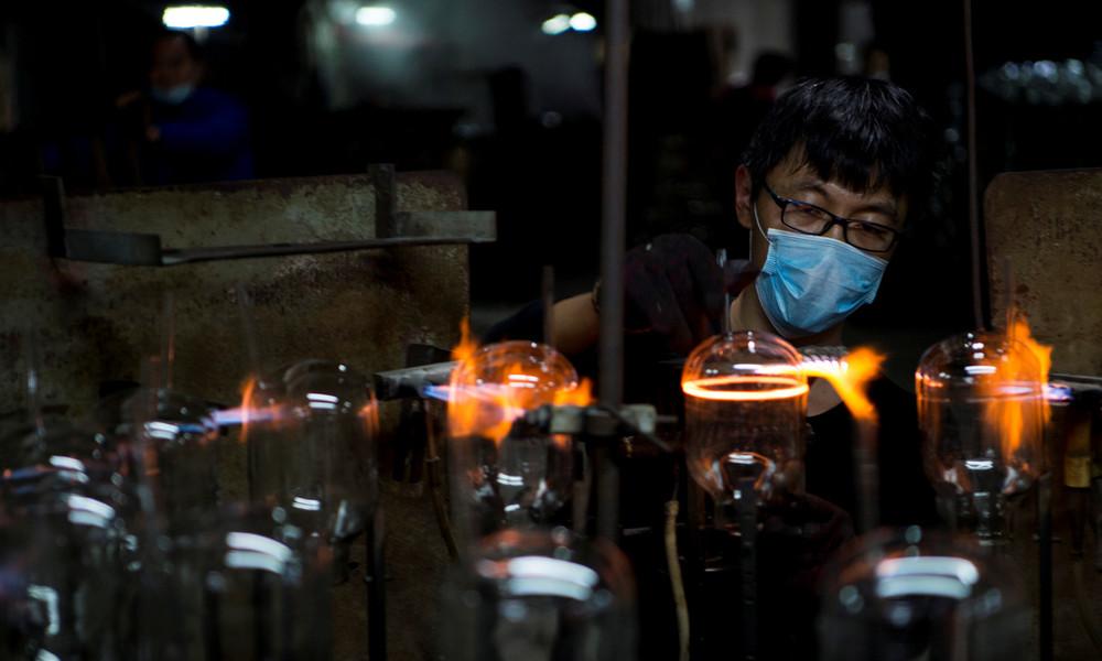 Lockdown-Folgen lassen nach: Produktion in China auf Höhenflug