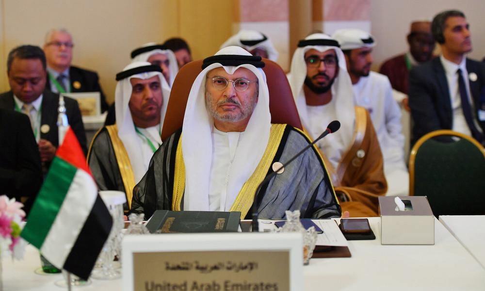 Die Vereinigten Arabischen Emirate im Karikatur-Streit auf Macrons Seite