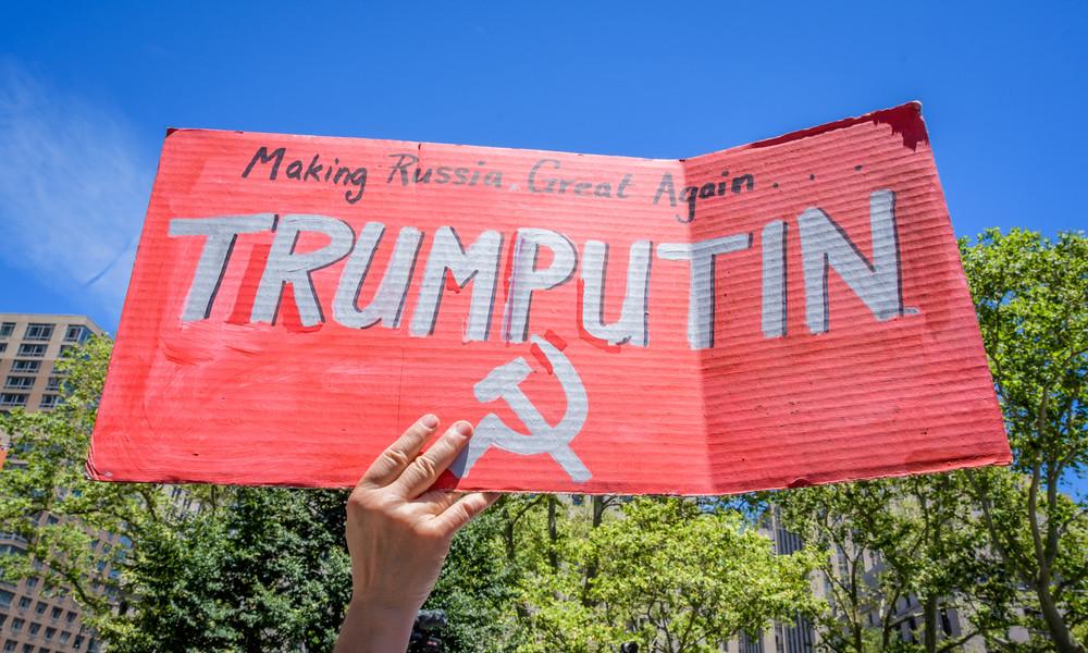 """Medienbericht: Desinformation zu Trump und Russland beruhen auf Aussagen einer """"betrunkenen"""" Russin"""