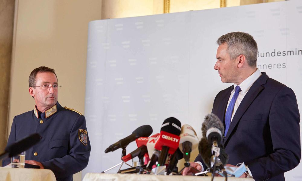 Terror in Wien: Zahl der Opfer erhöht sich auf vier – Angeschossener Polizist außer Lebensgefahr