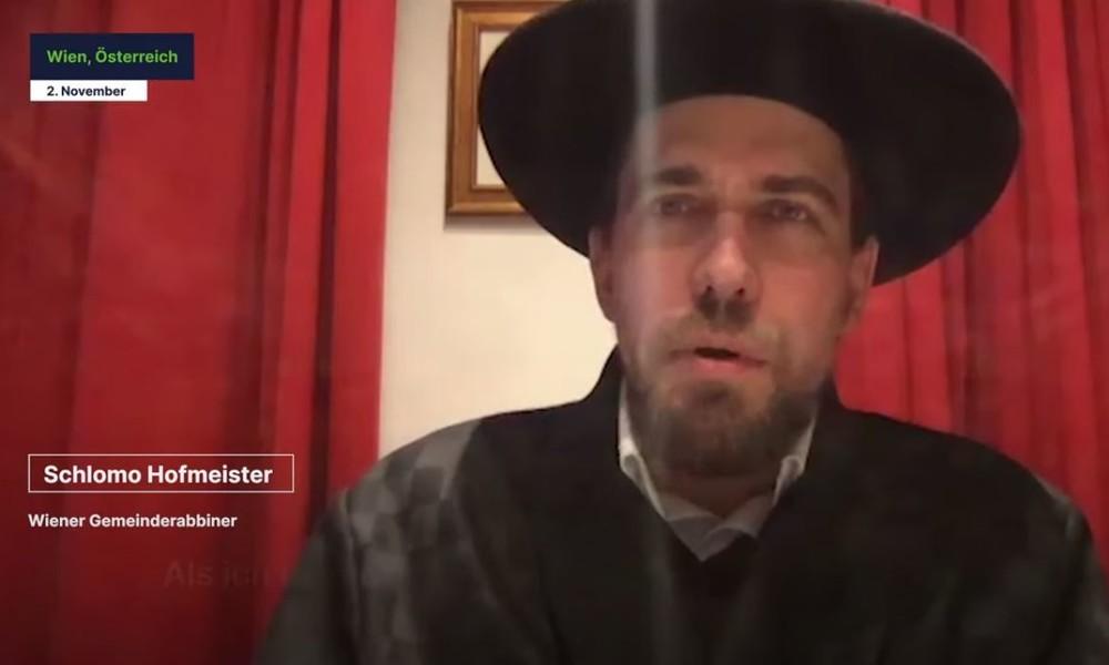 """Rabbiner in Wien: """"Es gab mindestens 100 Schüsse vor unserer Synagoge"""""""