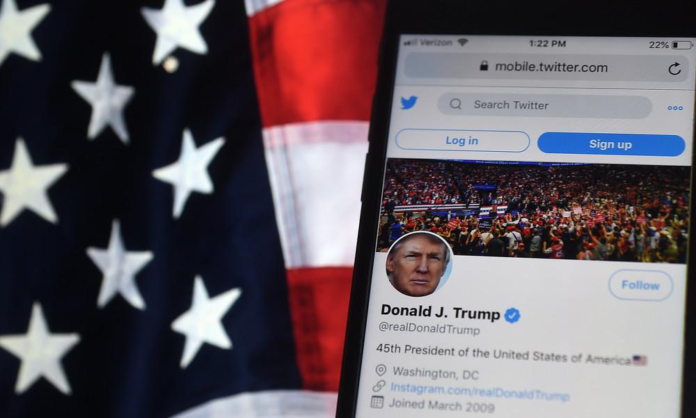 """US-Wahl: Trump warnt vor """"Gewalt in den Straßen"""" – Twitter reagiert mit Warnhinweis"""