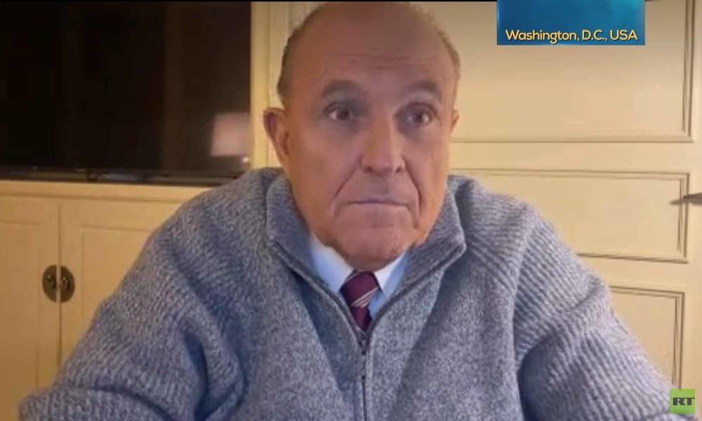 """Trumps Anwalt Rudy Giuliani zu RT: """"Trump wird gewinnen. Es wird ein überraschender Sieg"""""""