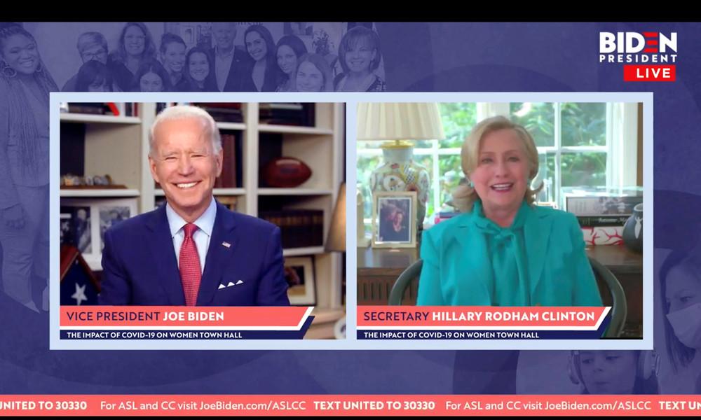 #StillWithHer: Loyale Hillary-Anhänger feiern Clinton durch Wahl von Biden