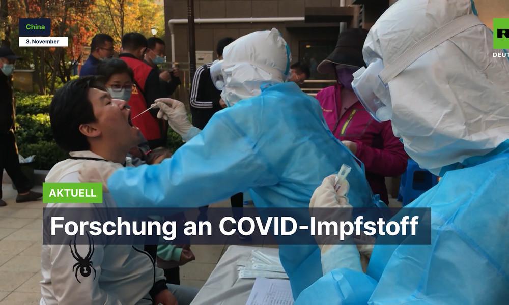 Chinesische Forscher bereiten sich auf künftige Pandemien vor (Video)