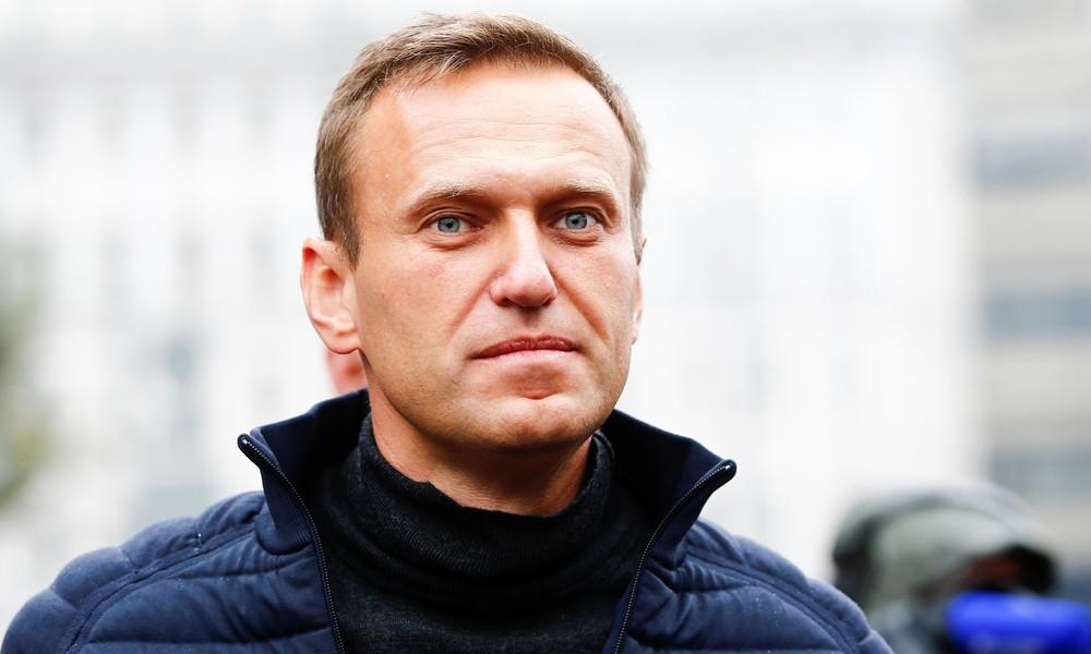 Russland: Polizei durchsucht Büro von Alexei Nawalny