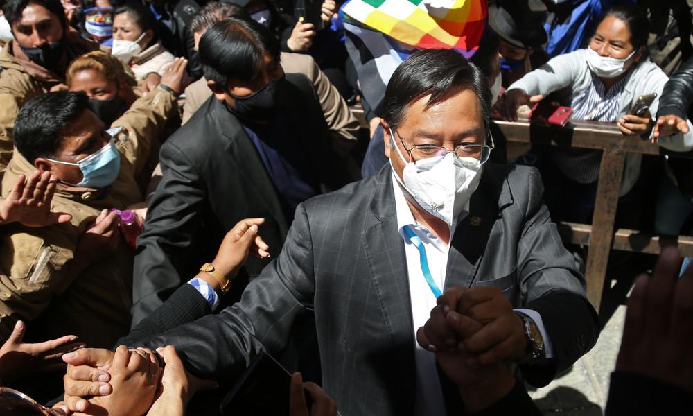 Bolivien: Sprengstoffanschlag auf designierten Präsidenten Luis Arce misslingt