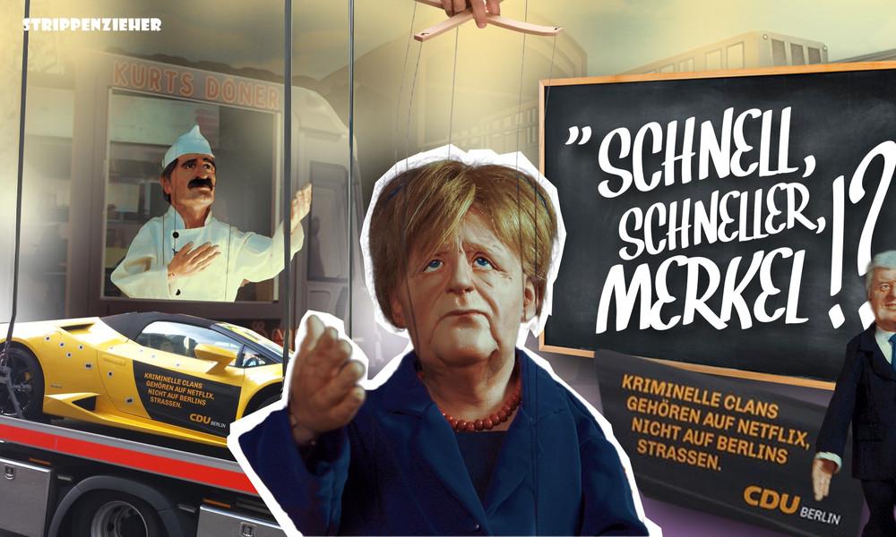 Rasant! – Schneller Schlitten zum Merkel-Wahlsieg 5.0? | Strippenzieher