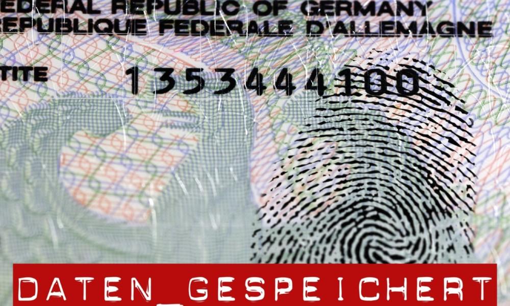Bundestagsbeschluss: Fingerabdrücke auf Reisepässen werden ab August 2021 Pflicht