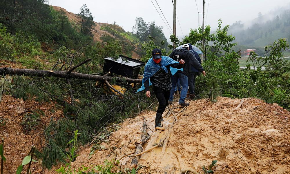 Heftige Regenfälle fordern mindestens 19 Menschenleben im Süden Mexikos