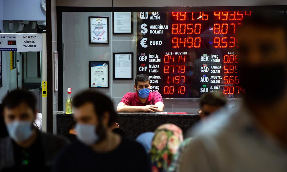 Wochenlange Talfahrt der türkischen Lira: Recep Tayyip Erdoğan entlässt Zentralbankchef