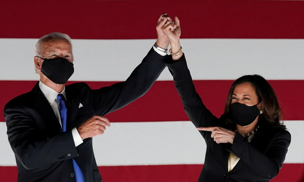Joe Biden sichert sich genug Wahlmänner für US-Präsidentschaft