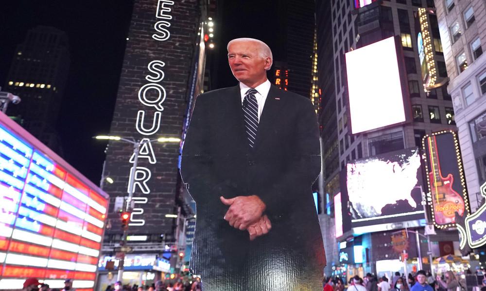 "Joe Biden will zuerst eine ""Corona-Taskforce"" ins Leben rufen"