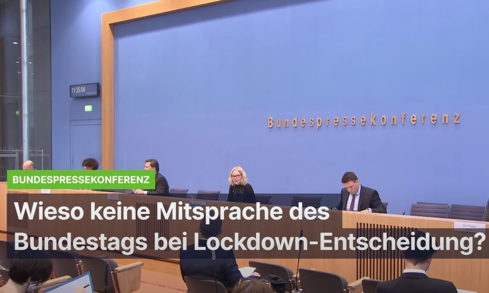Wieso gab es keine Bundestagsabstimmung zur Lockdown-Entscheidung?