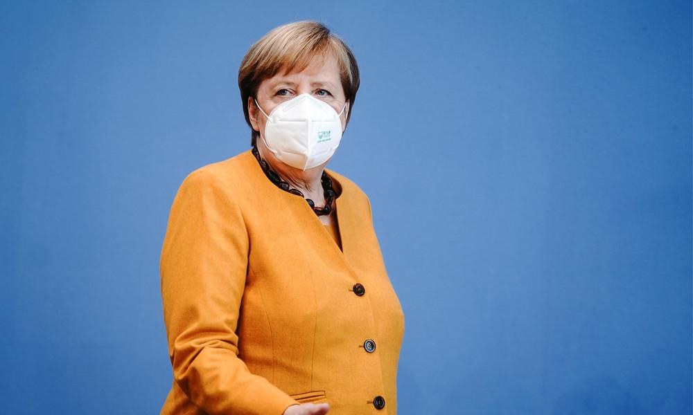 Bundeskanzlerin Merkel gibt Pressekonferenz zum Ausgang der US-Präsidentschaftswahl