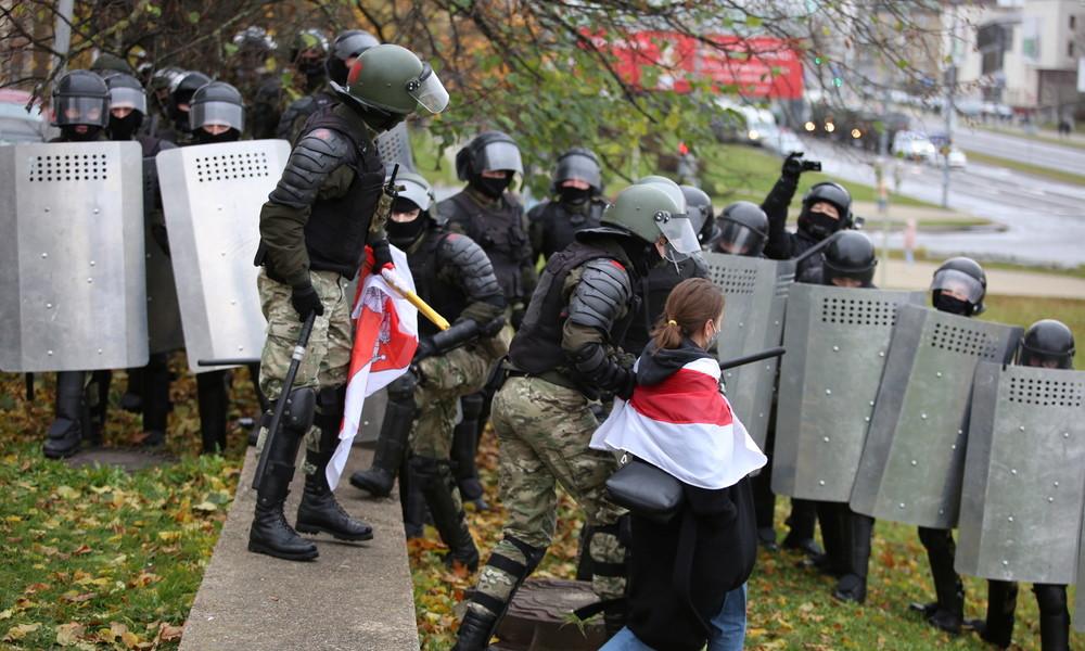 Weißrussland: Proteste gegen Lukaschenko in Minsk – Polizei geht gegen Demonstranten vor