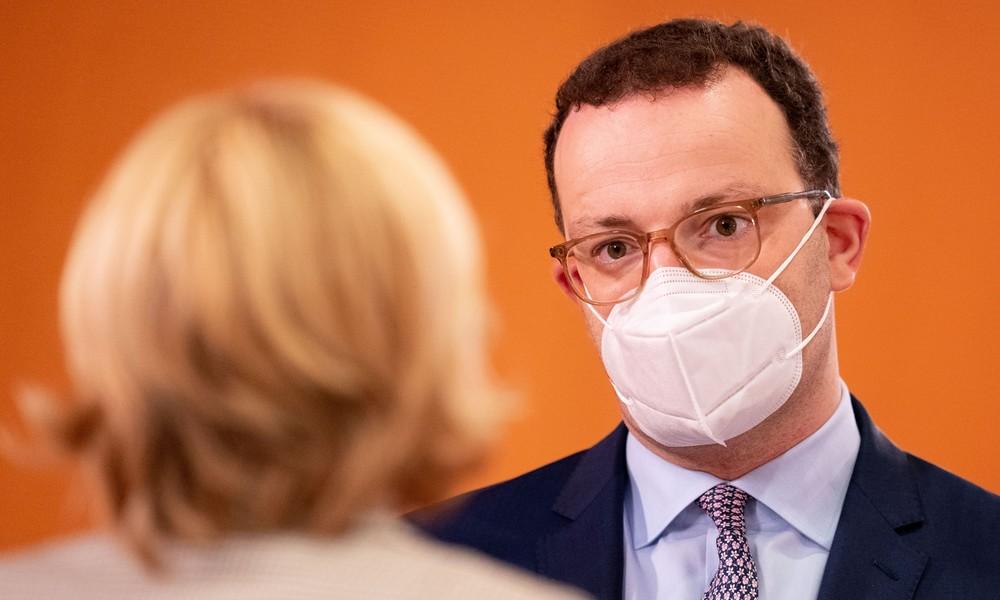 """Gesundheitsminister Spahn: """"Bis zu 40 Prozent der Bevölkerung gehören zur Risikogruppe"""""""