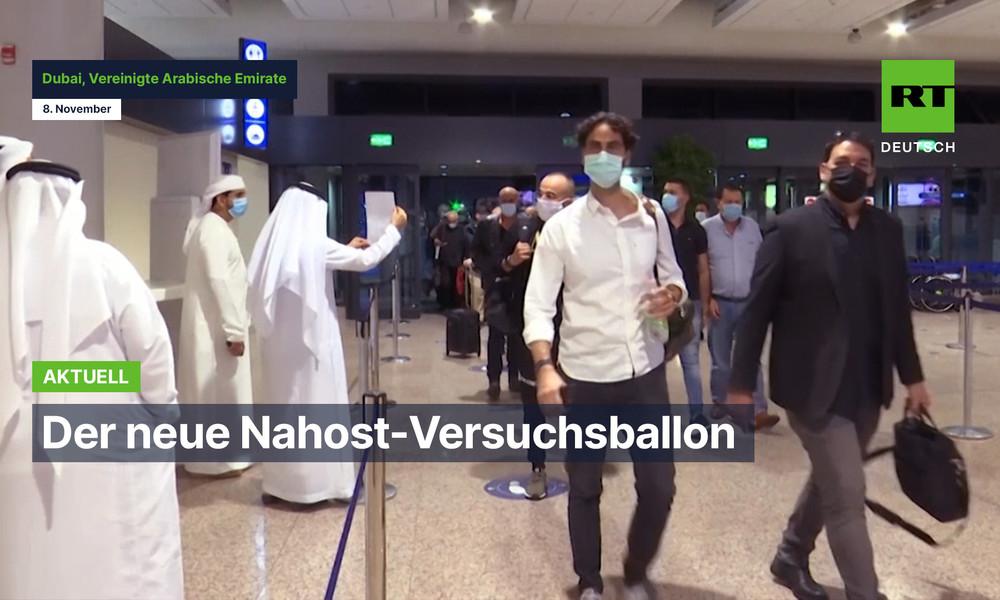 Auch ohne Zwei-Staaten-Lösung: Erster Flug mit israelischen Touristen landet in Dubai (Video)