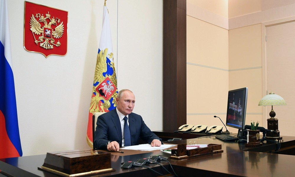 Putin: Russische Friedenstruppen auf dem Weg nach Bergkarabach