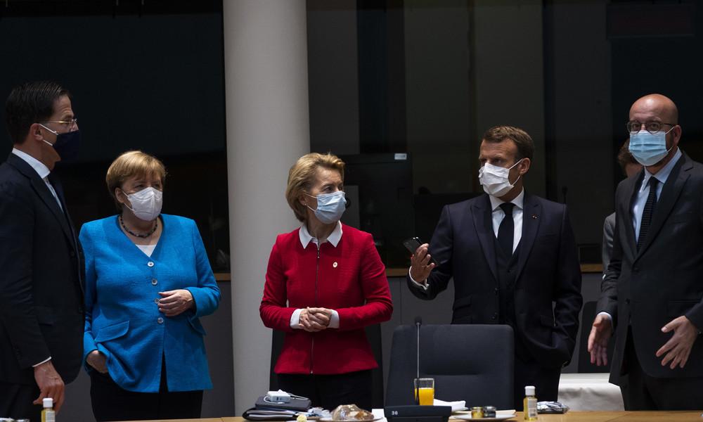 Live: Pressekonferenz von Merkel, Macron, Kurz und v. d. Leyen nach EU-Treffen zu Islamisten-Terror