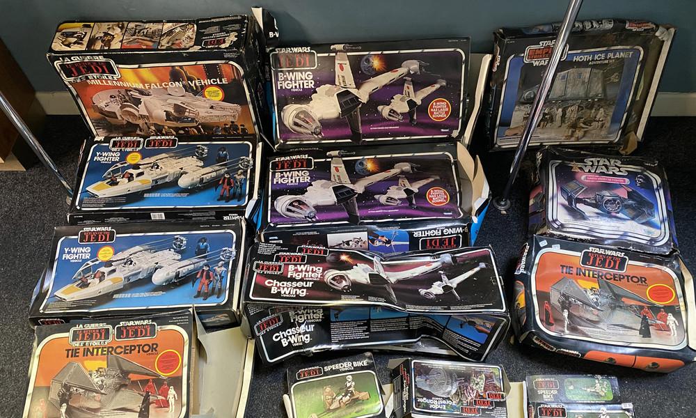 Möge das Glück mit dir sein: Britisches Paar entdeckt echten Wert einer Star-Wars-Spielzeug-Sammlung