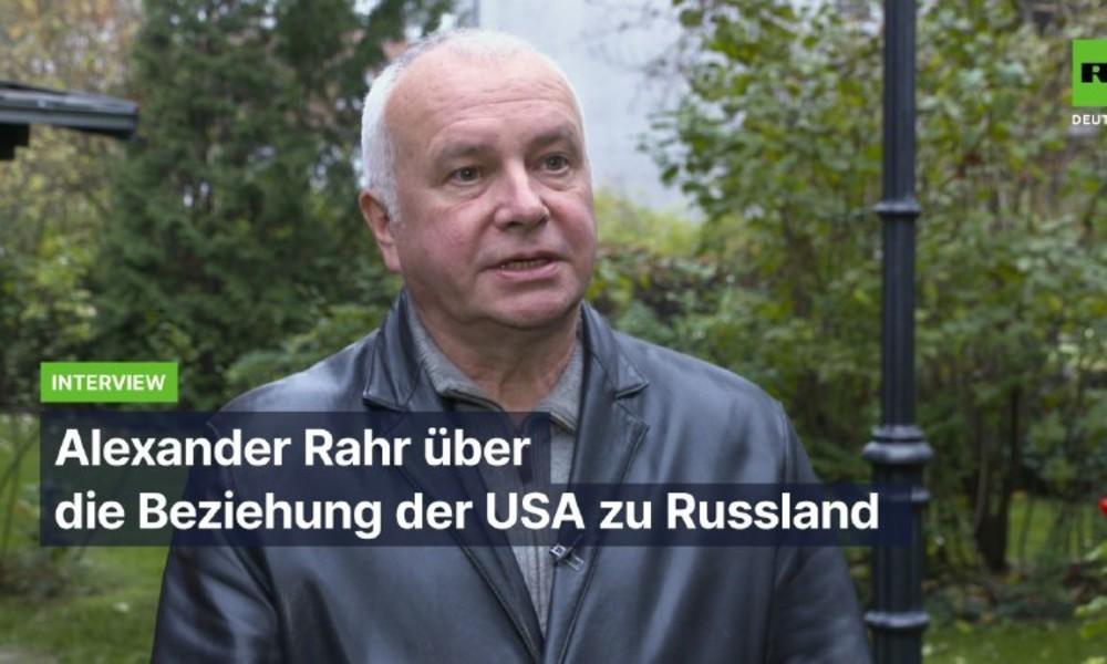 """""""Es wird weiterhin schwierig"""" – Alexander Rahr über künftige US-amerikanisch-russische Beziehungen"""