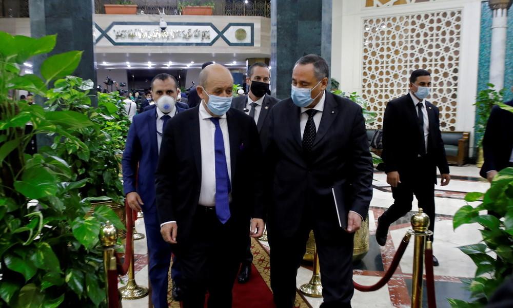 Streben nach Versöhnung: Le Drian besucht Ägypten im Zuge der Proteste gegen Mohammed-Karikaturen