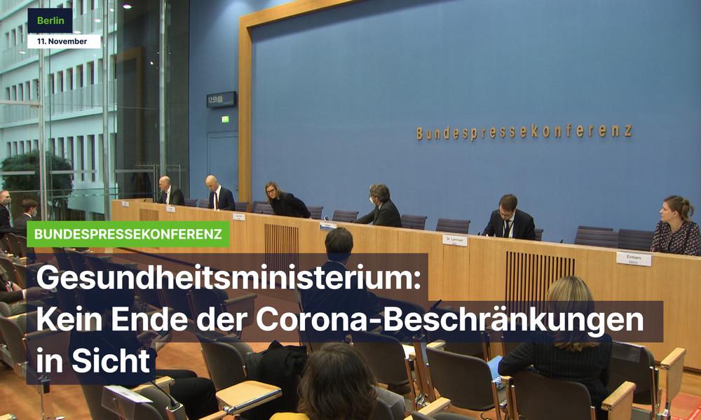 Gesundheitsministerium: Kein Ende der Corona-Beschränkungen in Sicht