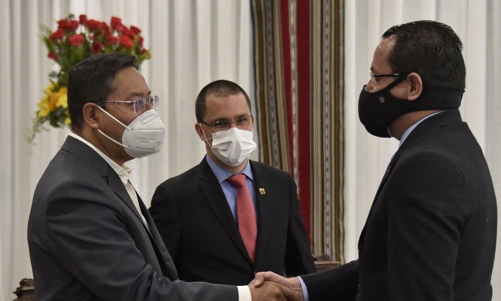 Venezuela und Bolivien stellen diplomatische Kontakte wieder her