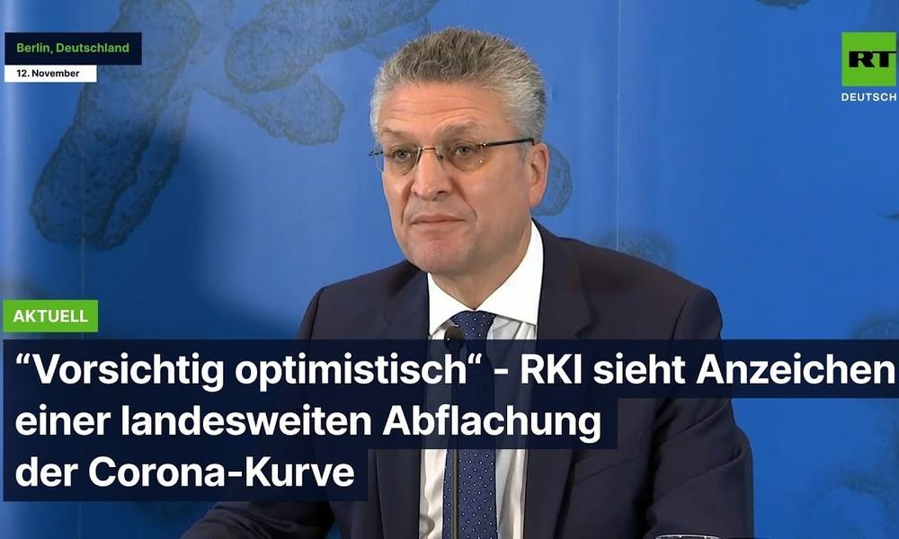"""""""Vorsichtig optimistisch"""" ? RKI sieht Anzeichen einer landesweiten Abflachung der Corona-Kurve"""
