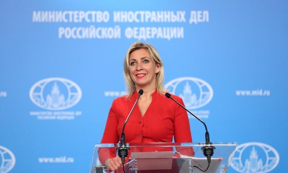 LIVE: Pressekonferenz der Sprecherin des russischen Außenministeriums (englisch)