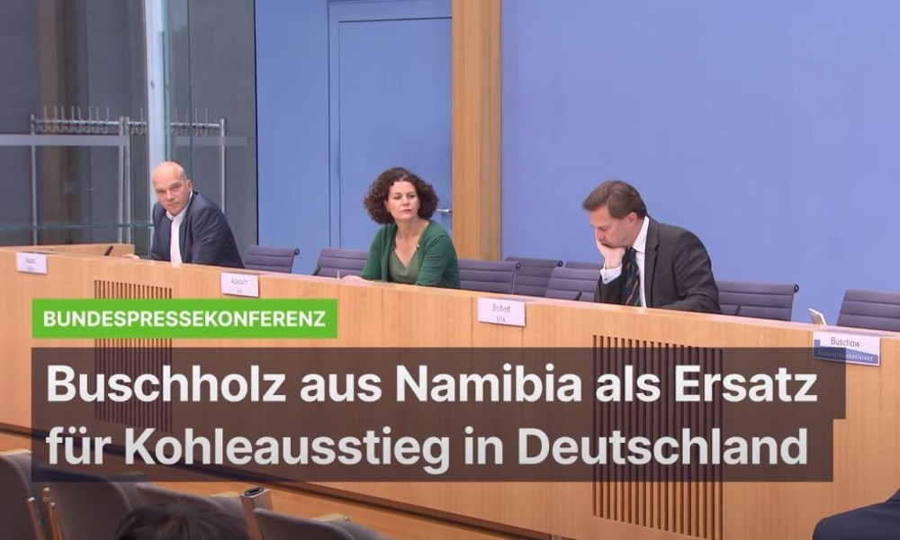 """Fragwürdige """"Entwicklungspolitik"""": Buschholz aus Namibia soll deutschen Kohleausstieg anheizen"""
