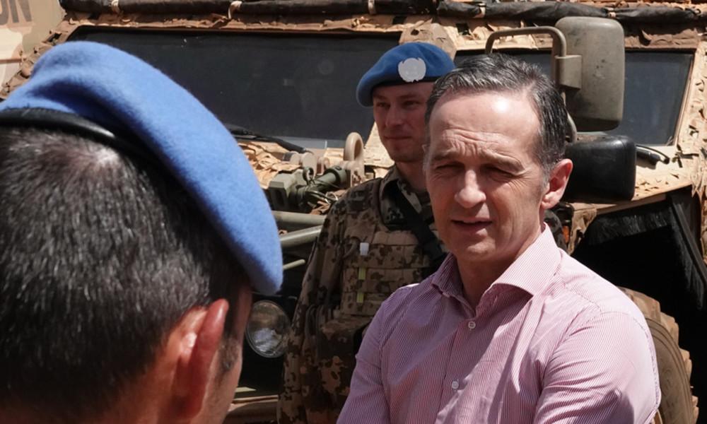 Heiko Maas verwechselt zum 65-jährigen Bundeswehr-Jubiläum deutsche und belgische Soldaten