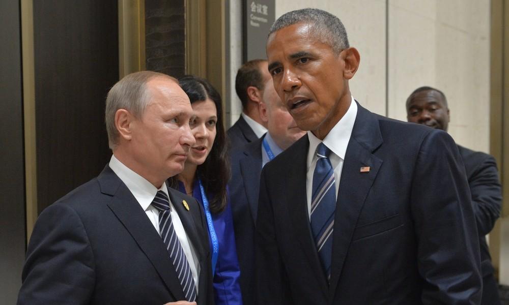 "Barack Obamas Memoiren: Wladimir Putin hat ""Allerweltskörper"""