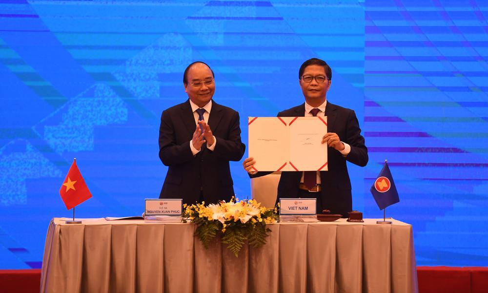 China und Asien-Pazifik-Staaten schließen weltgrößten Freihandelspakt